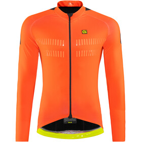 Alé Cycling Clima Protection 2.0 Warm Air LS Jersey Men fluo orange